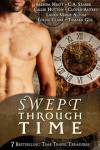 Cover of Swept Through Time, a time travel anthology that includes my novel Ridgeway.