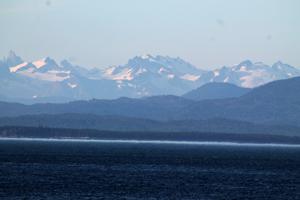 Alaska Coastline, Inside Passage