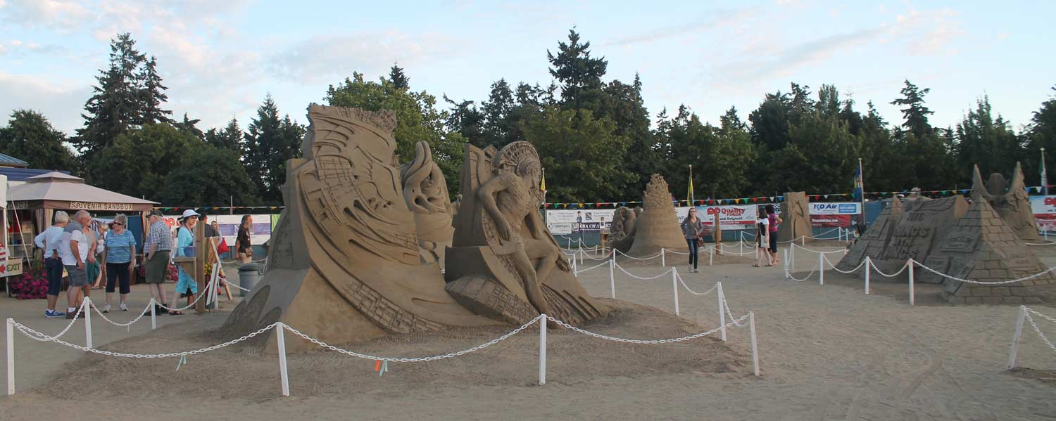 The 2016 Parksville Sandcastle Competition