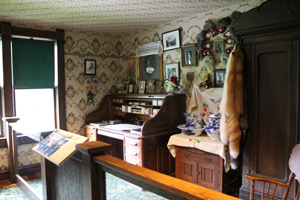 Inside the Moore House, Skagway