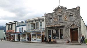 Skagway streetscape