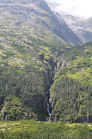 Rugged Terrain leading up to White Pass