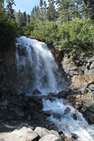 Waterfall along Highway 98