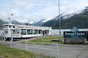 Portage Glacier tour boat, Alaska