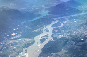 River from above