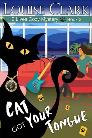 Cover of Cat Got Your Tongue, Book 3 in the 9 Lives Cozy Mystery Series