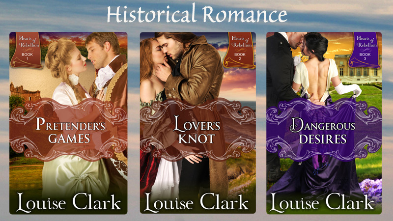 Permalink to:Historical Romances by Louise Clark