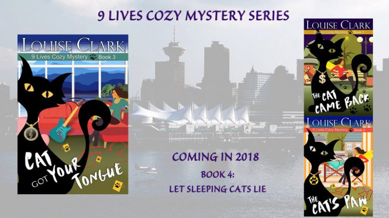 Books in the 9 Lives Cozy Mystery Series