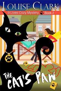 Cover of The Cat's Paw, Book 2 in the 9 Lives Cozy Mystery Series